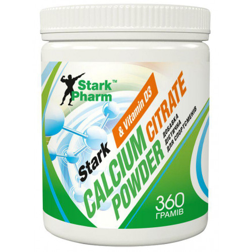 Stark Calcium Citrate Powder 360 грамм