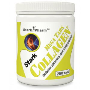 Stark Collagen Hydrolyzed Mega tabs 1000 мг 250 таблеток
