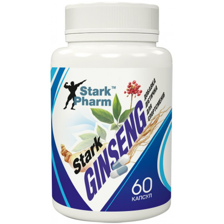 Stark Ginseng Strong Extract 60 капсул