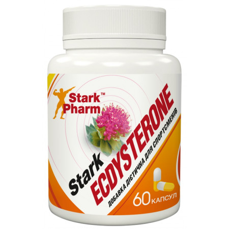 Stark Ecdysterone 400 мг 60 капсул